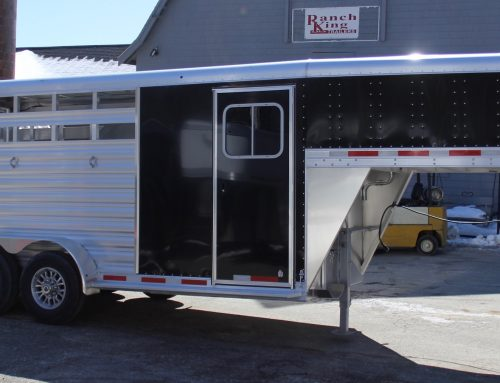 2018 Featherlite Three Horse Slant Trailer