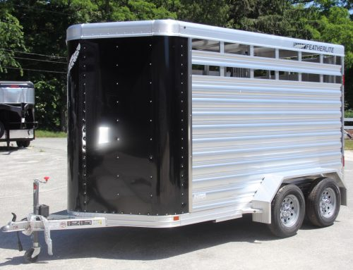 2018 Featherlite Two Horse Slant Trailer