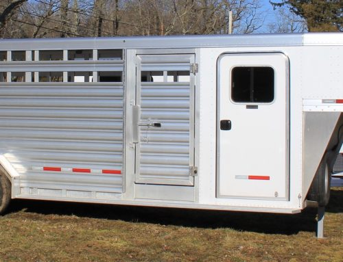2019 Featherlite Stock Combo Trailer