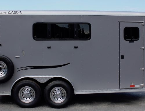 2020 Trailers USA Three Horse
