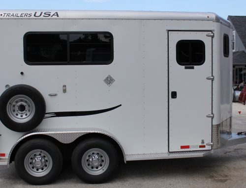 2020 Trailers USA Two Horse