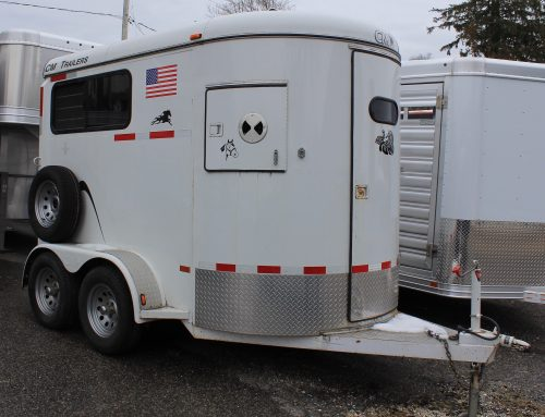 2005 CM Two Horse Trailer